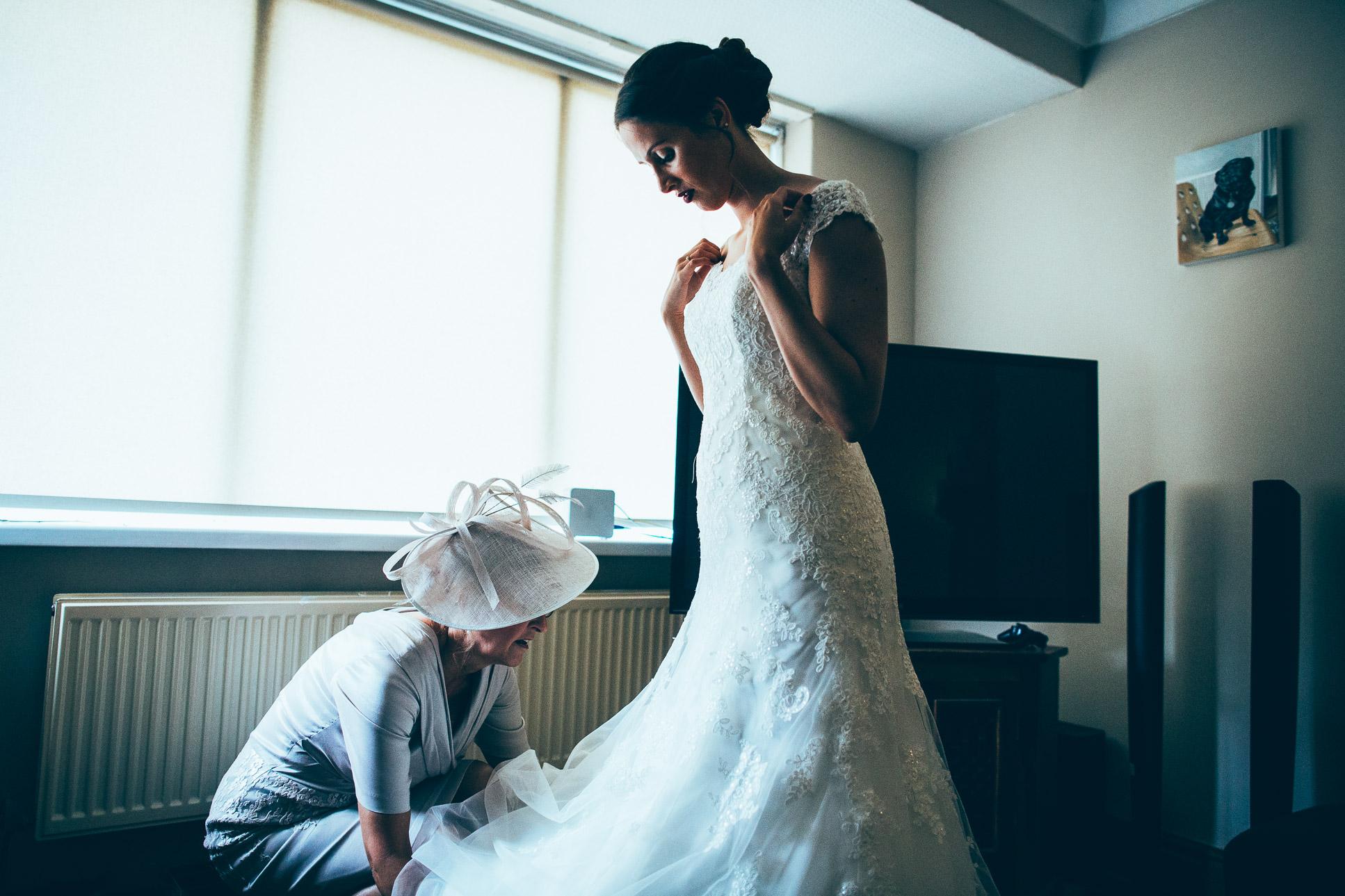 Rivington Hall Barn Wedding Photography Lancashire-33