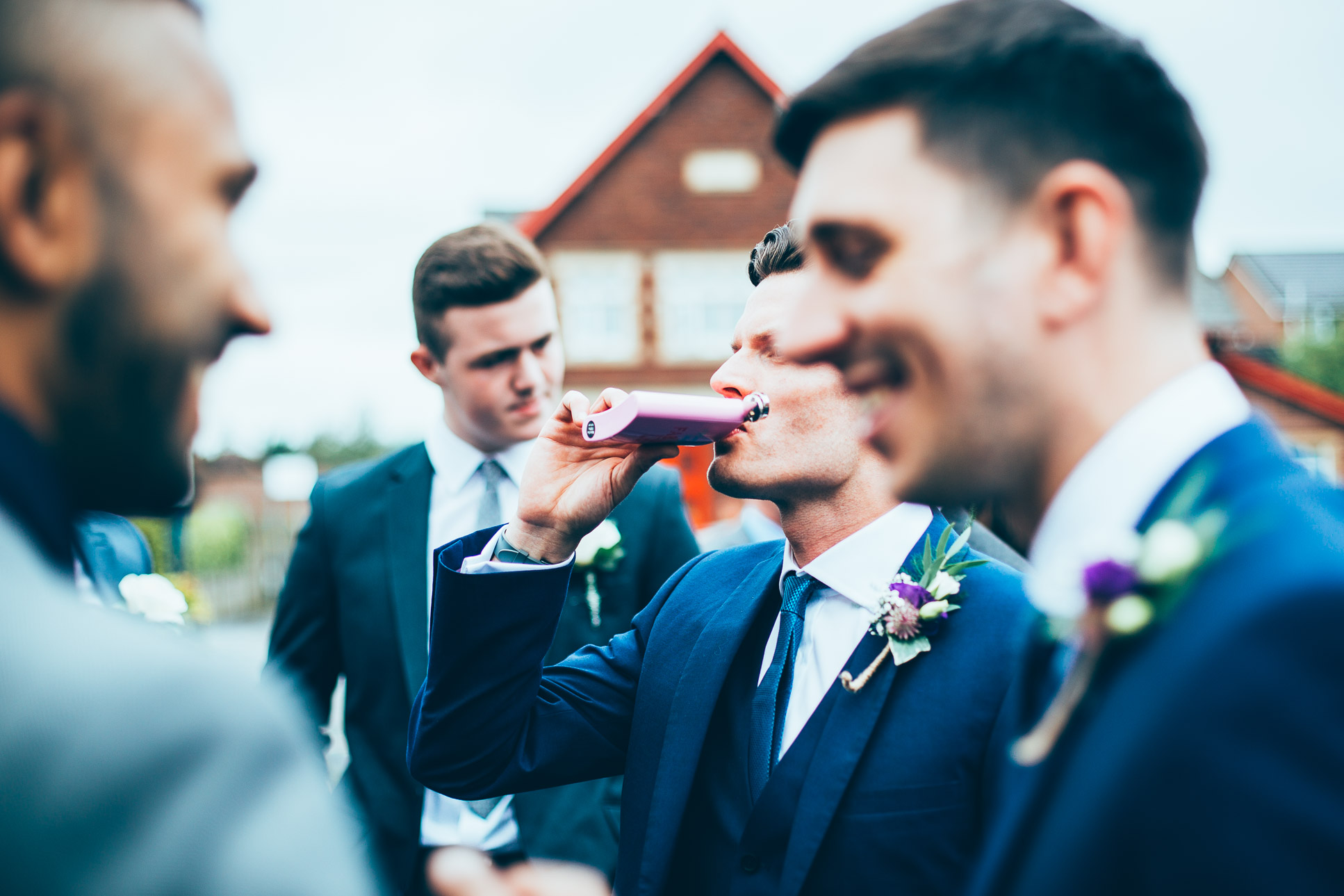 Rivington Hall Barn Wedding Photography Lancashire-45