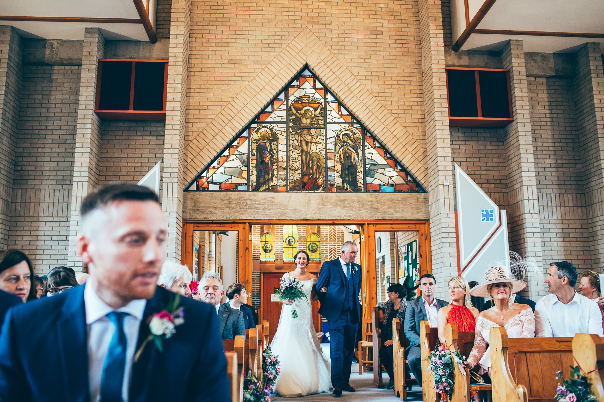 Rivington Hall Barn Wedding Photography Lancashire-68