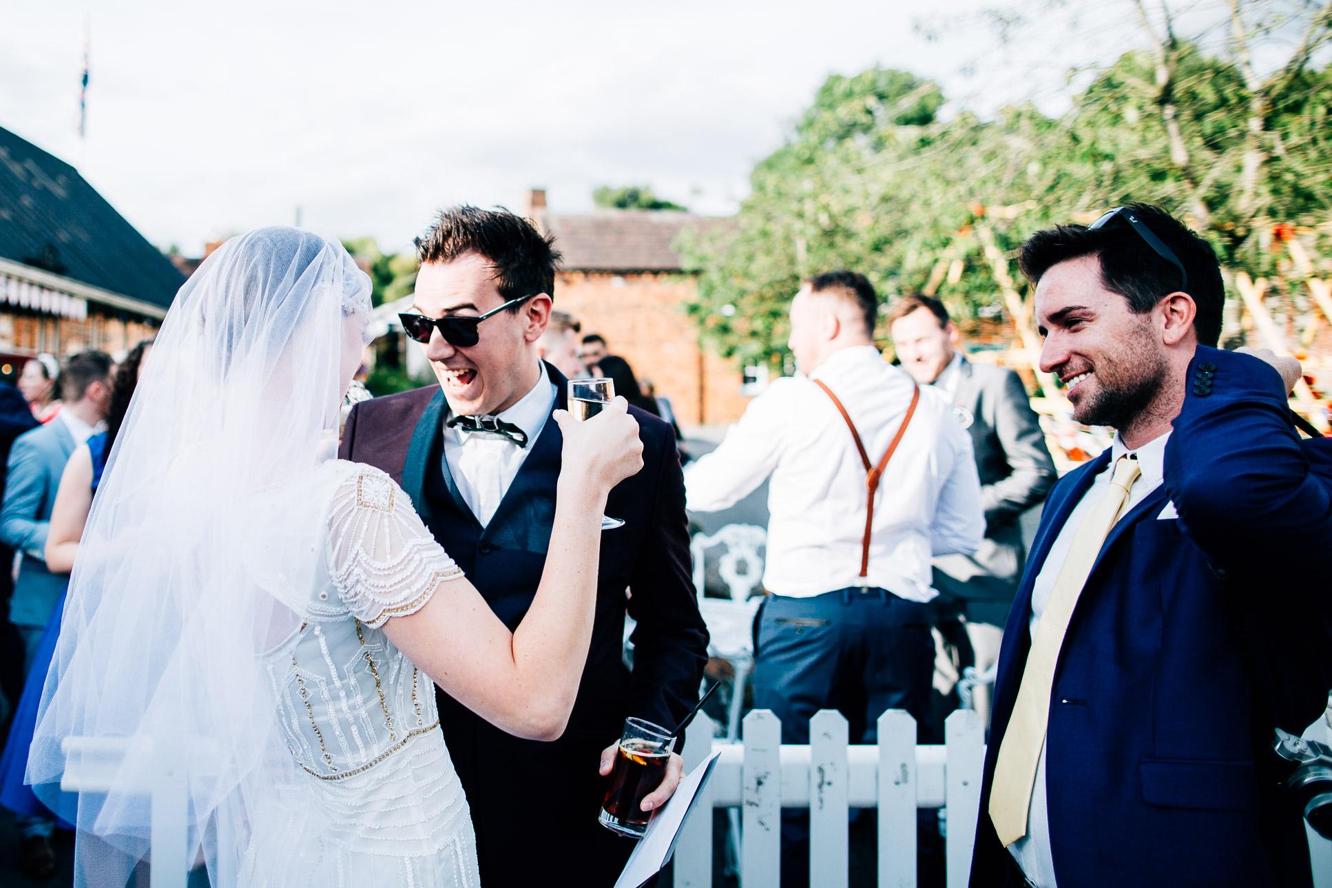 Blists Hill Wedding Photography Shropshire-103