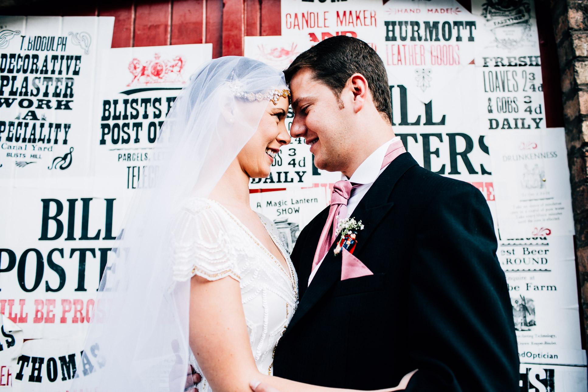 Blists Hill Wedding Photography Shropshire-126