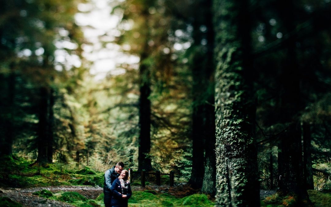 Whinlatter Pre-wedding Shoot – Abby & Josh