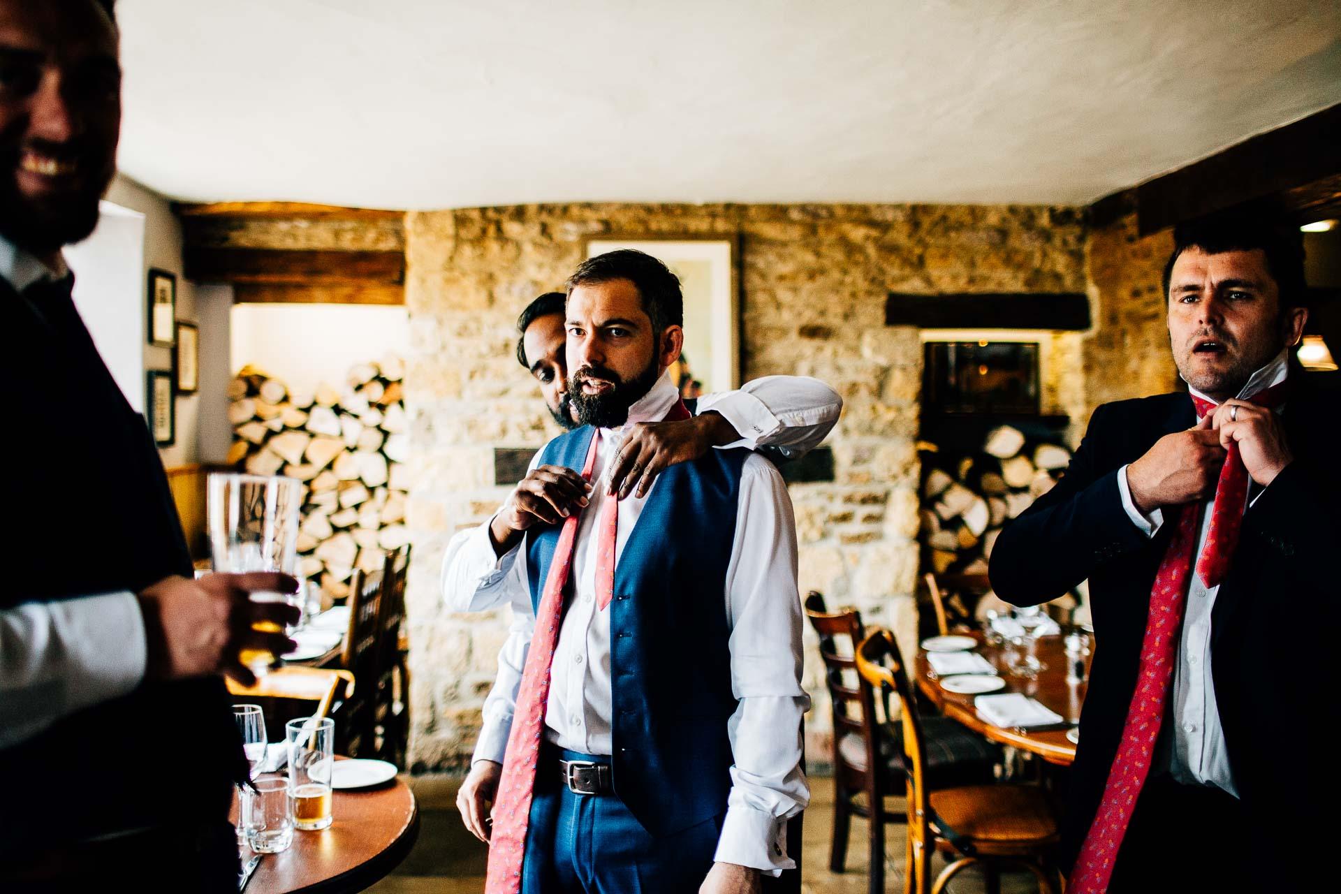Caswell House Wedding Photography - Emma & Pete-44