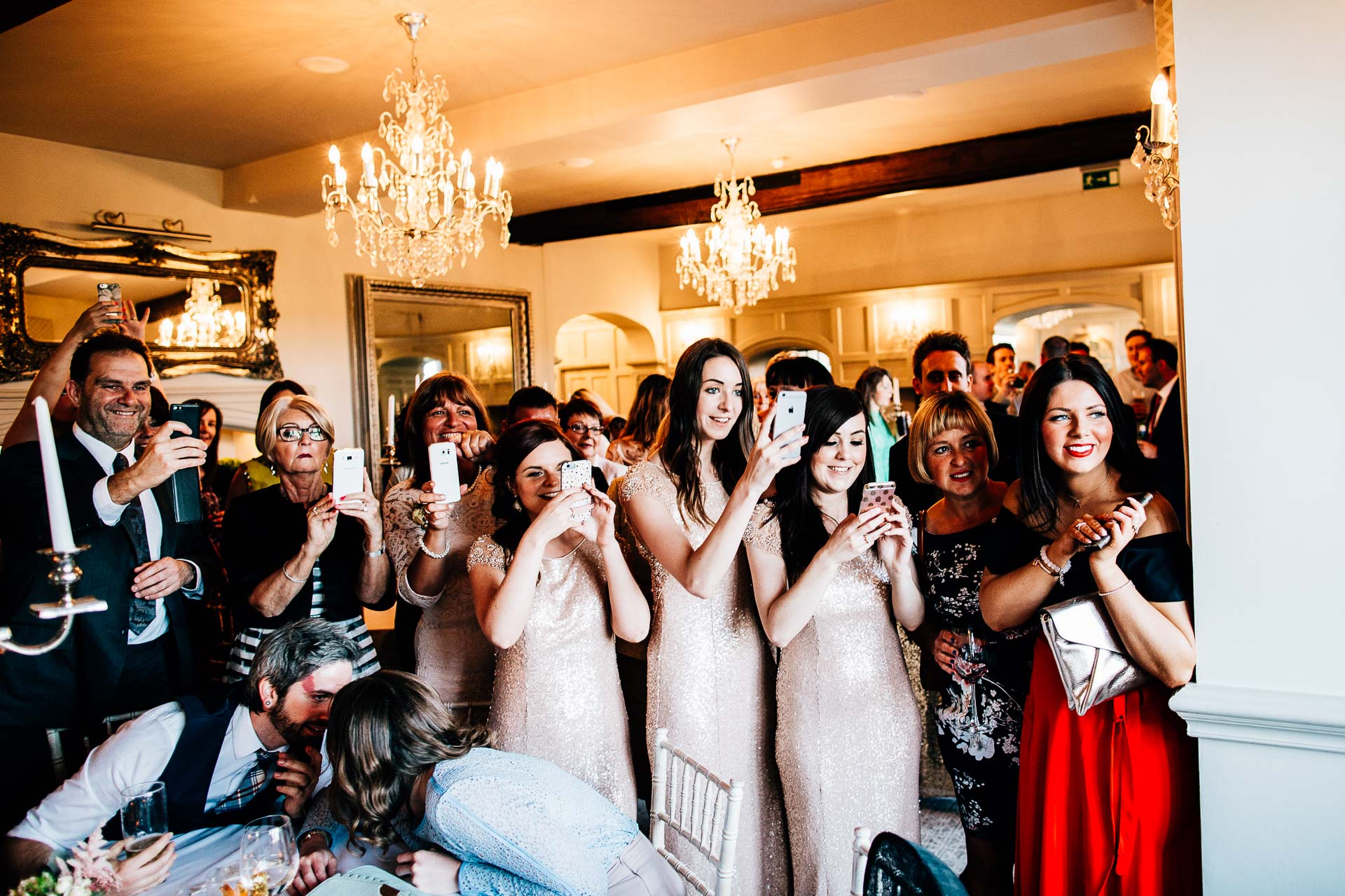 Weston Hall Wedding Photography - Laura & Ryan-115