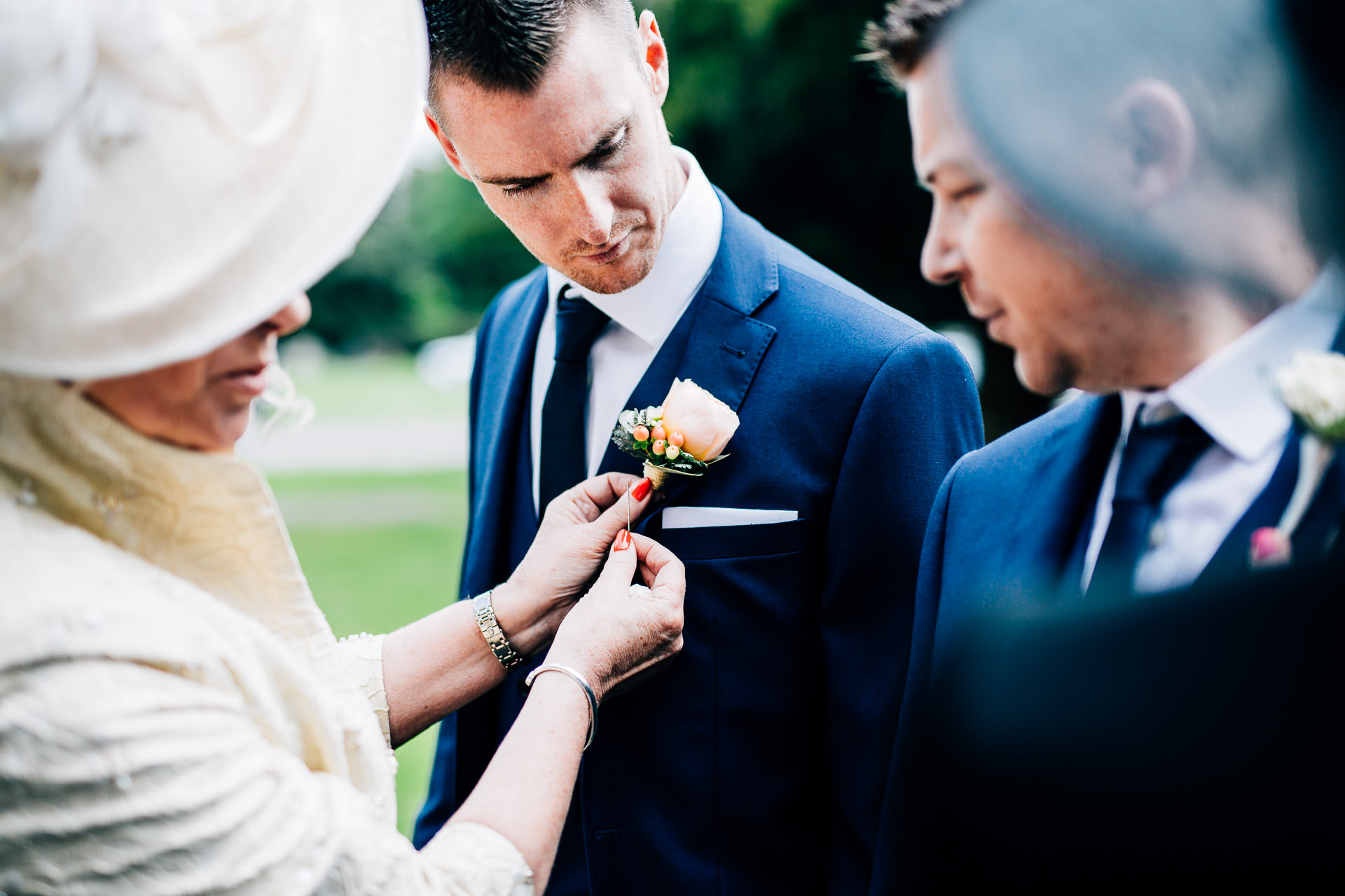 Weston Hall Wedding Photography - Laura & Ryan-52