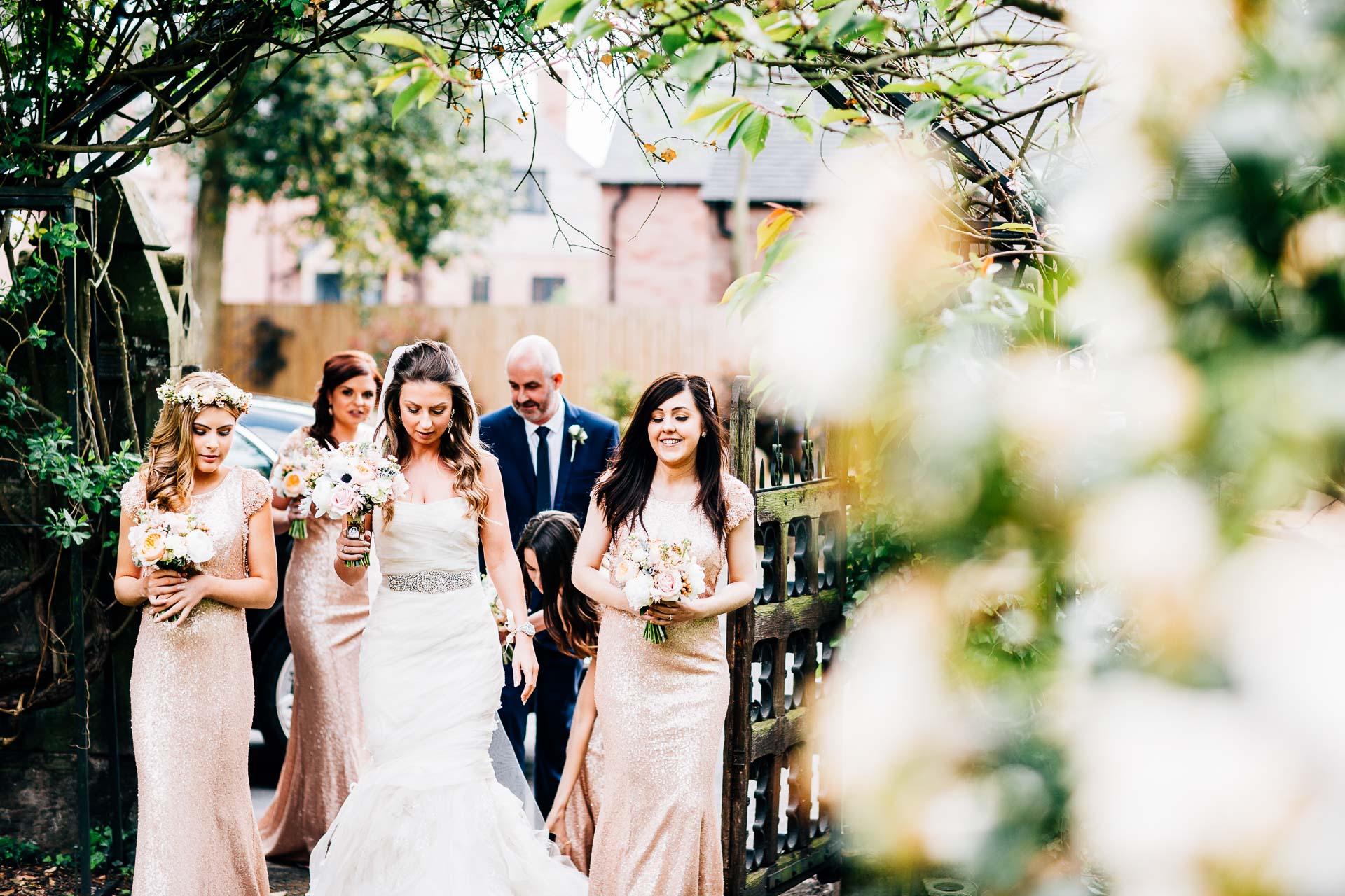 Weston Hall Wedding Photography - Laura & Ryan-57