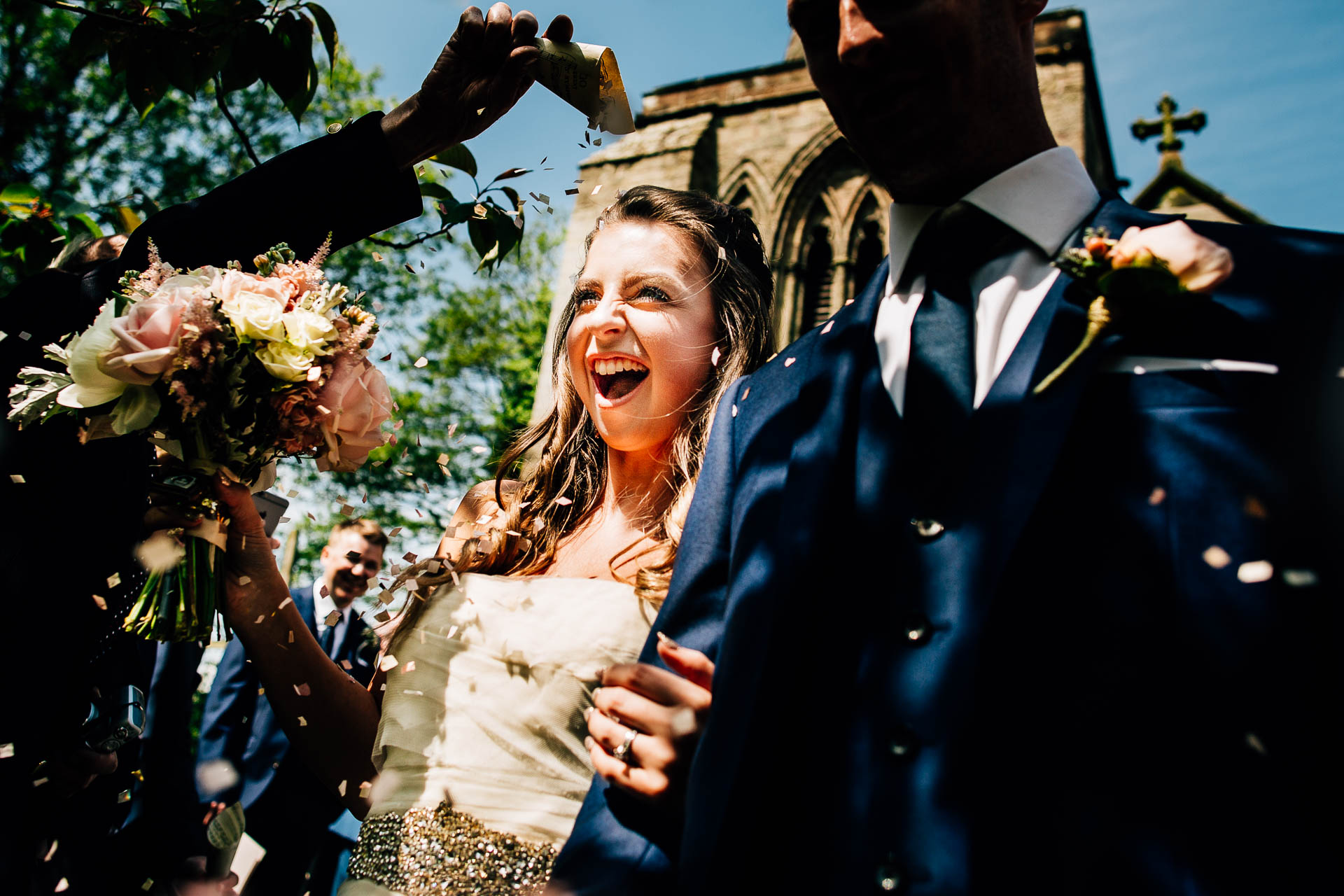 Weston Hall Wedding Photography - Laura & Ryan-69