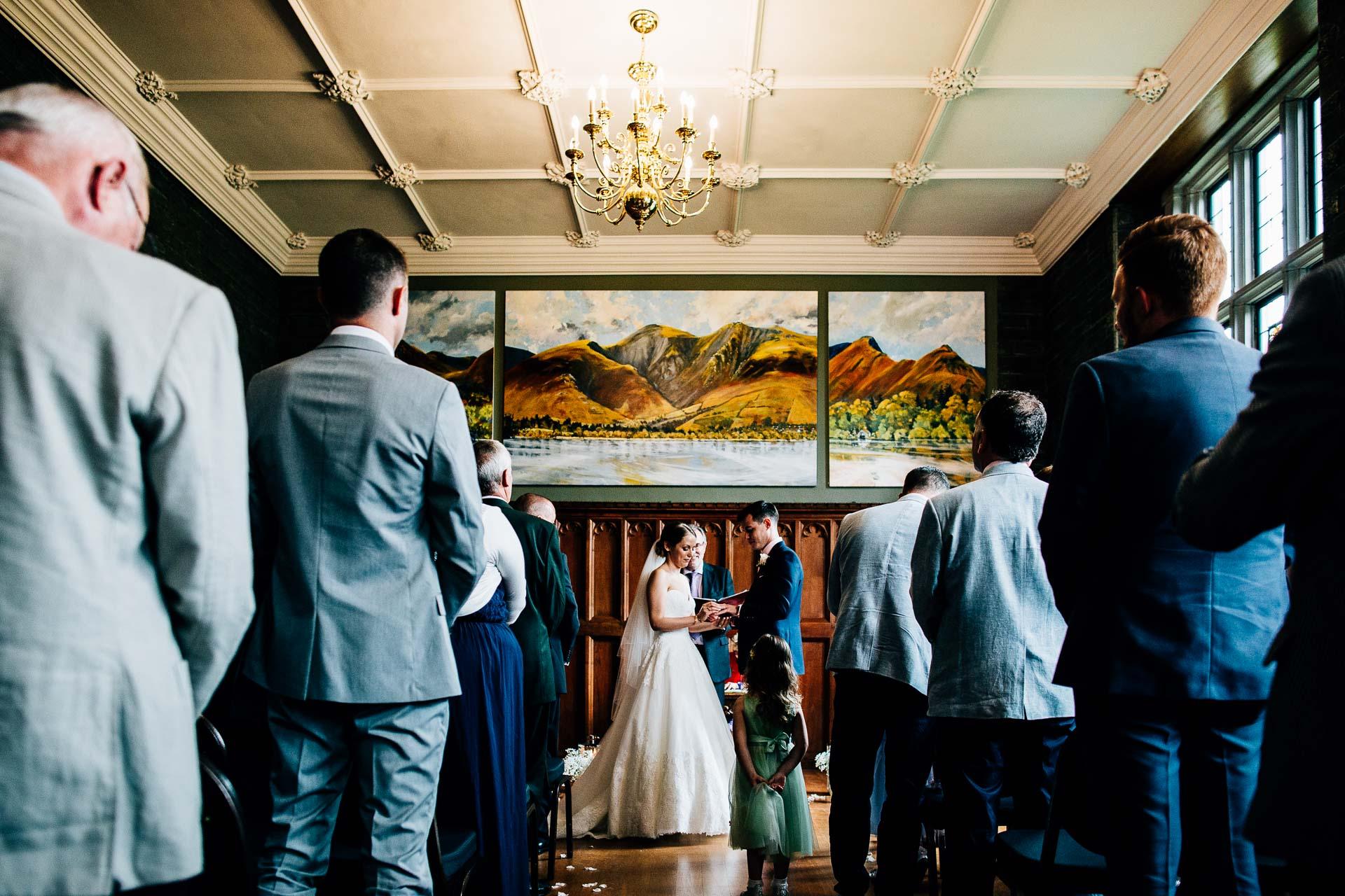 Lingholm Estate Wedding Photography - Rachel & Rob-105