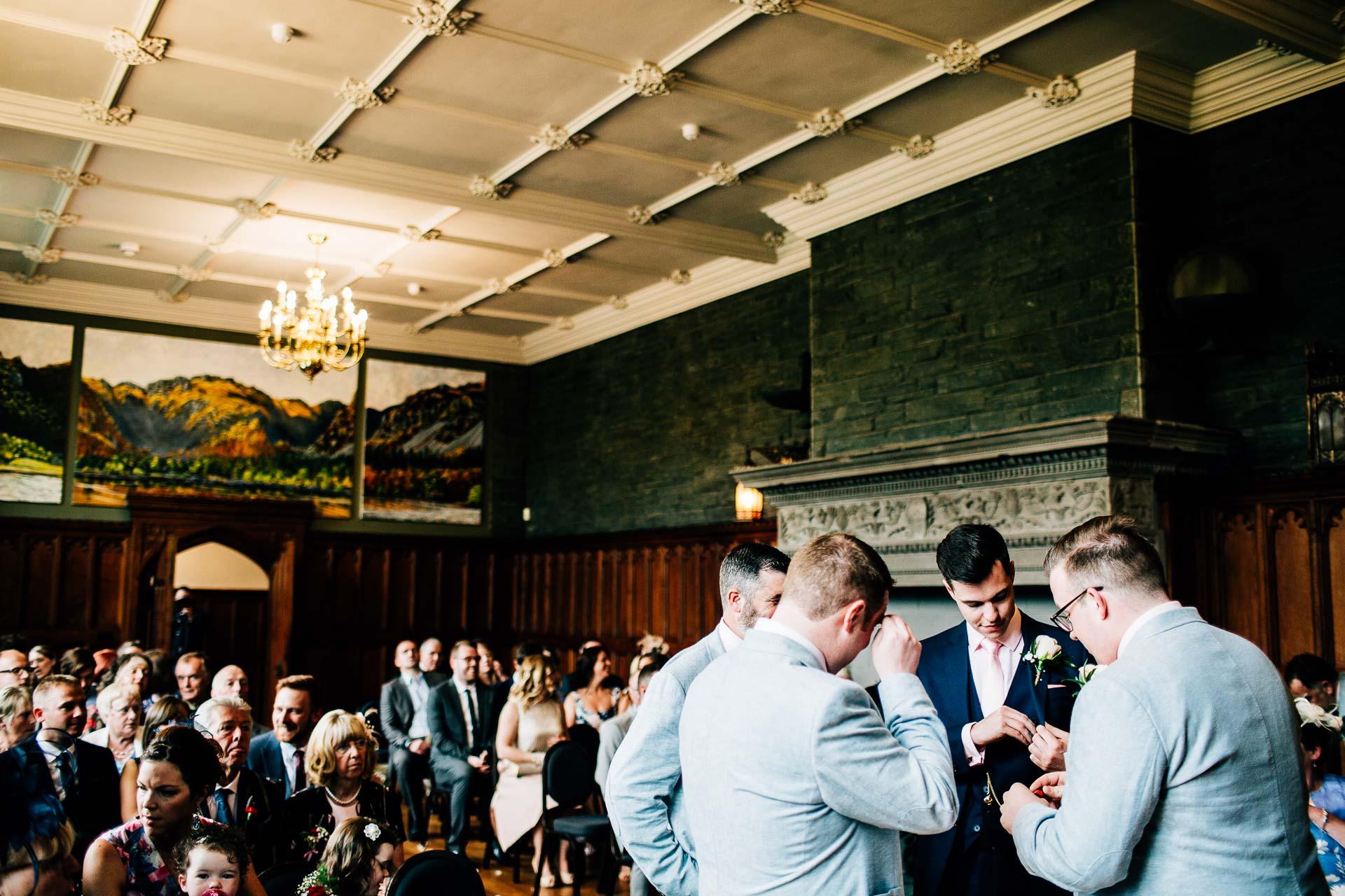 Lingholm Estate Wedding Photography - Rachel & Rob-91