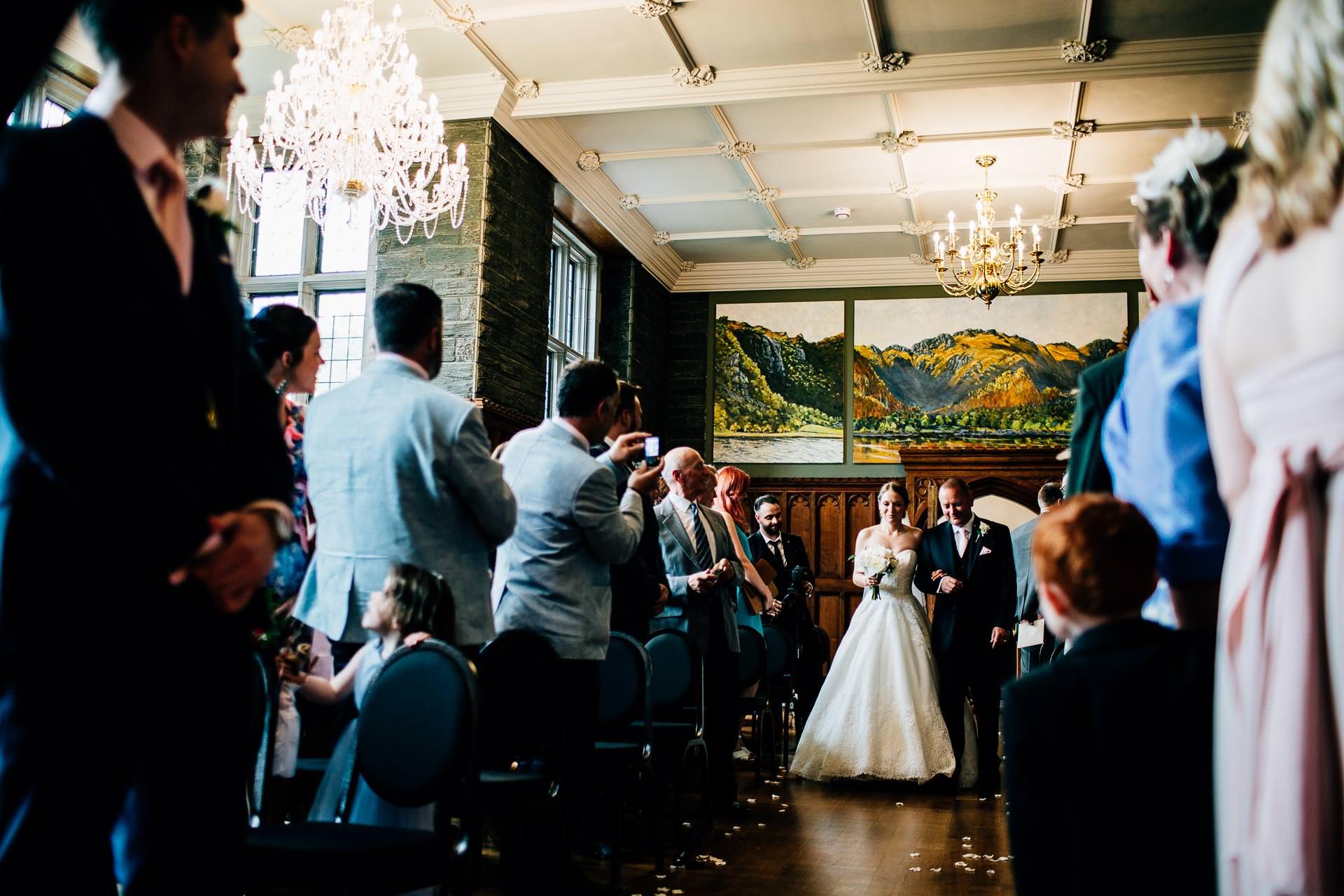 Lingholm Estate Wedding Photography - Rachel & Rob-97