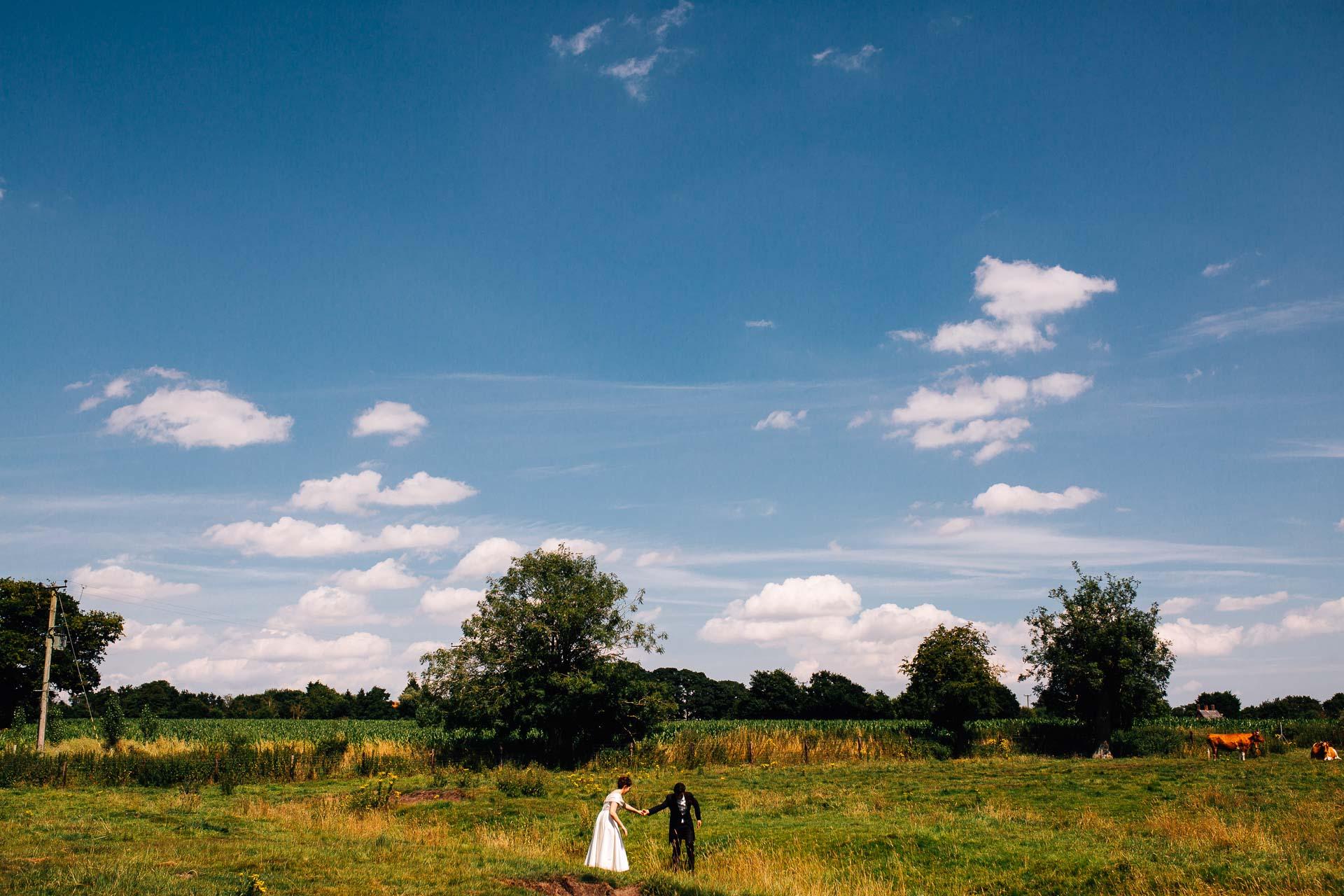 Blo Norton Hall Norfolk Wedding Photography - K&L - -81