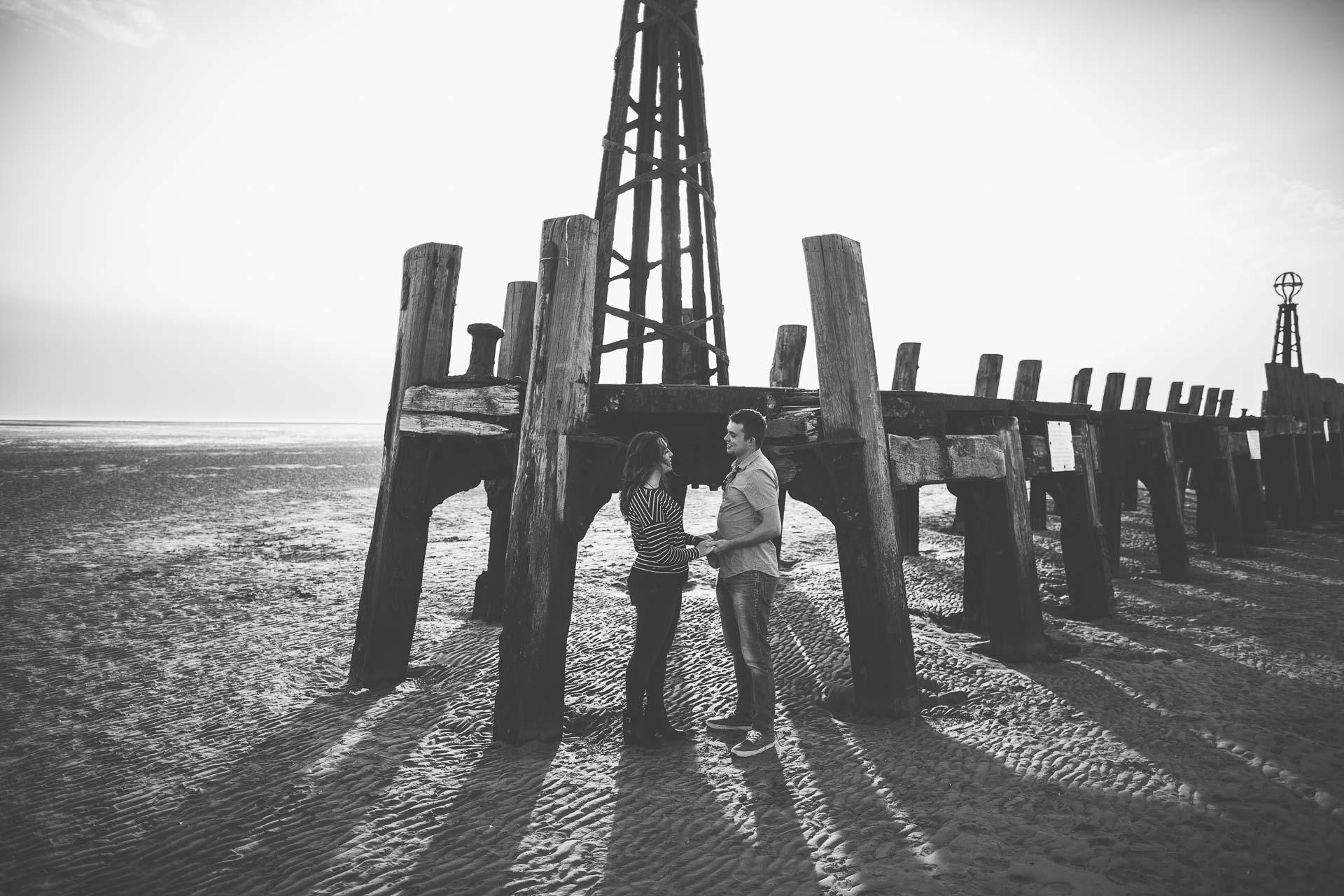 Lytham St Annes Pre Wedding Photography - Julia & Marcus-1