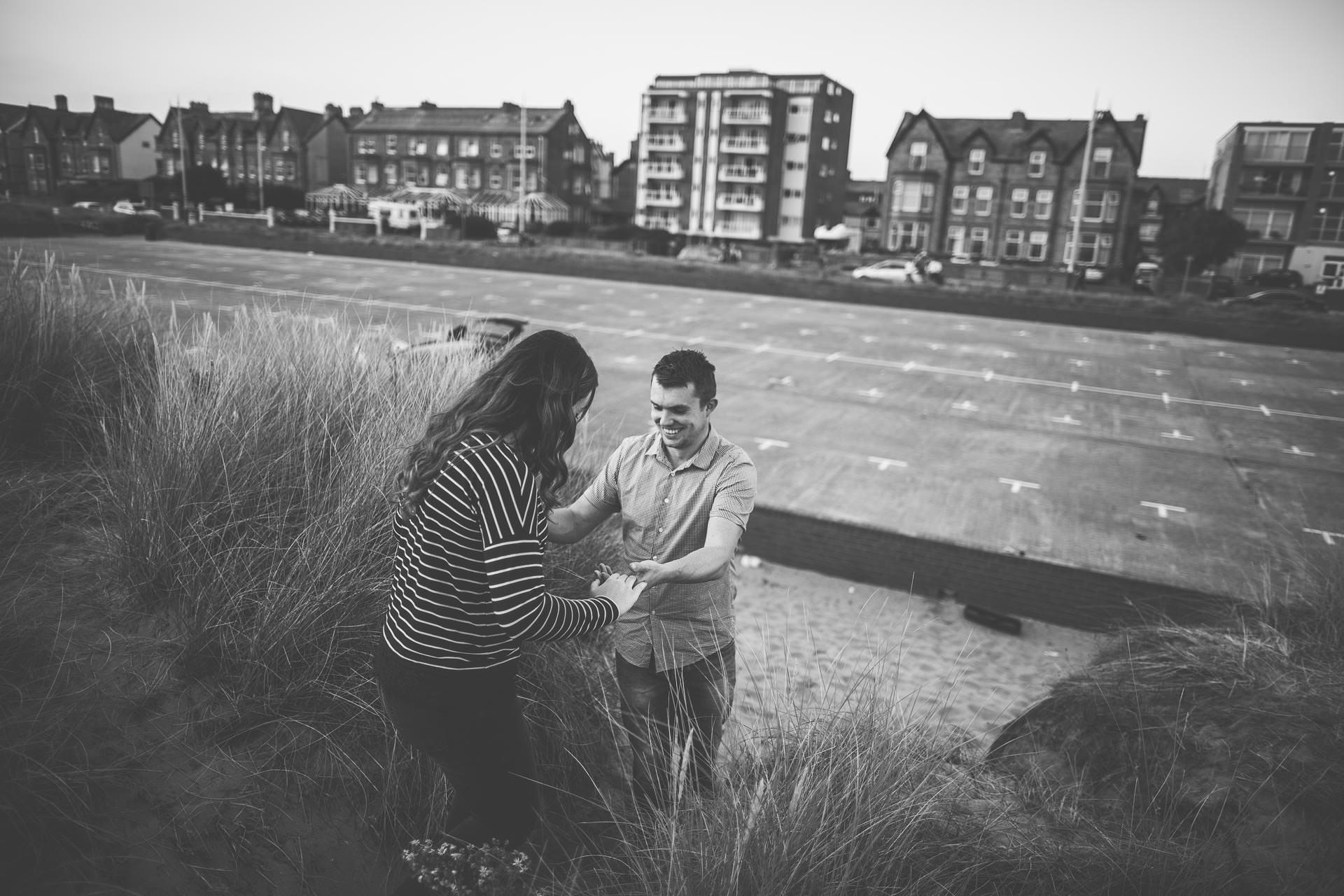 Lytham St Annes Pre Wedding Photography - Julia & Marcus-30