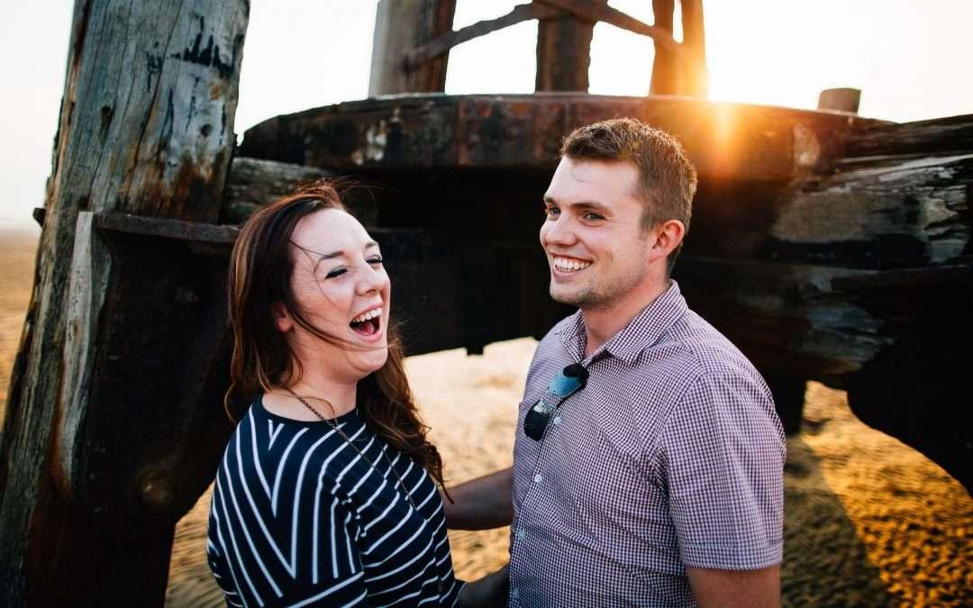 Lytham St Annes Pre Wedding Shoot – Julia & Marcus
