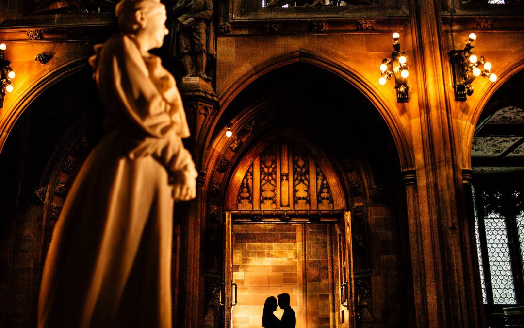 John Rylands Library Pre Wedding Photography – Steph & Steven