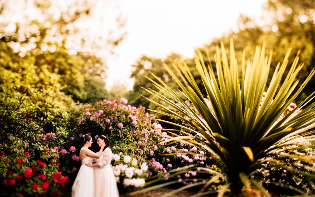 Sefton Park Palm House Wedding Photography – Natalie & Rea