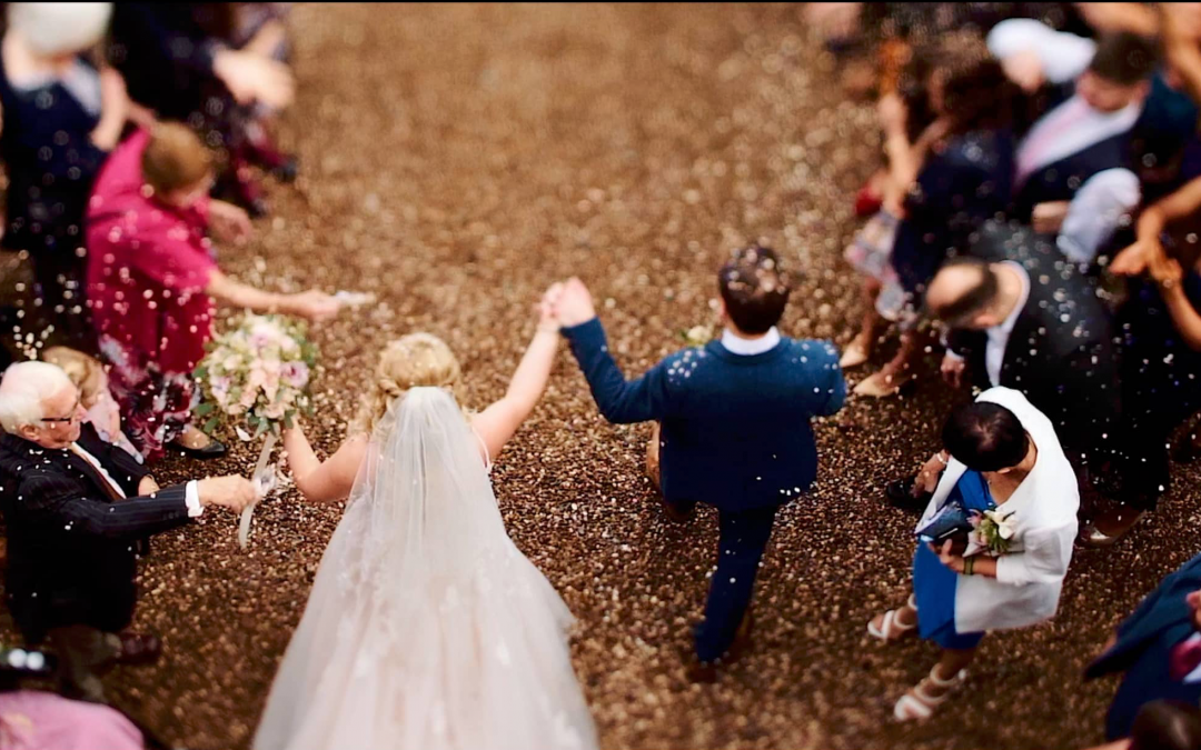 Iscoyd Park Wedding Videography – Rachel & Ben