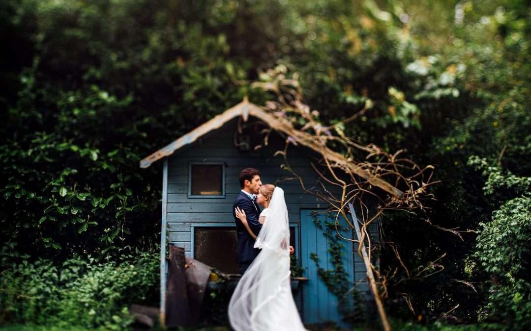 Lizzie & Junio's Incredible Back-Garden Marquee Wedding in Preston, Lancashire